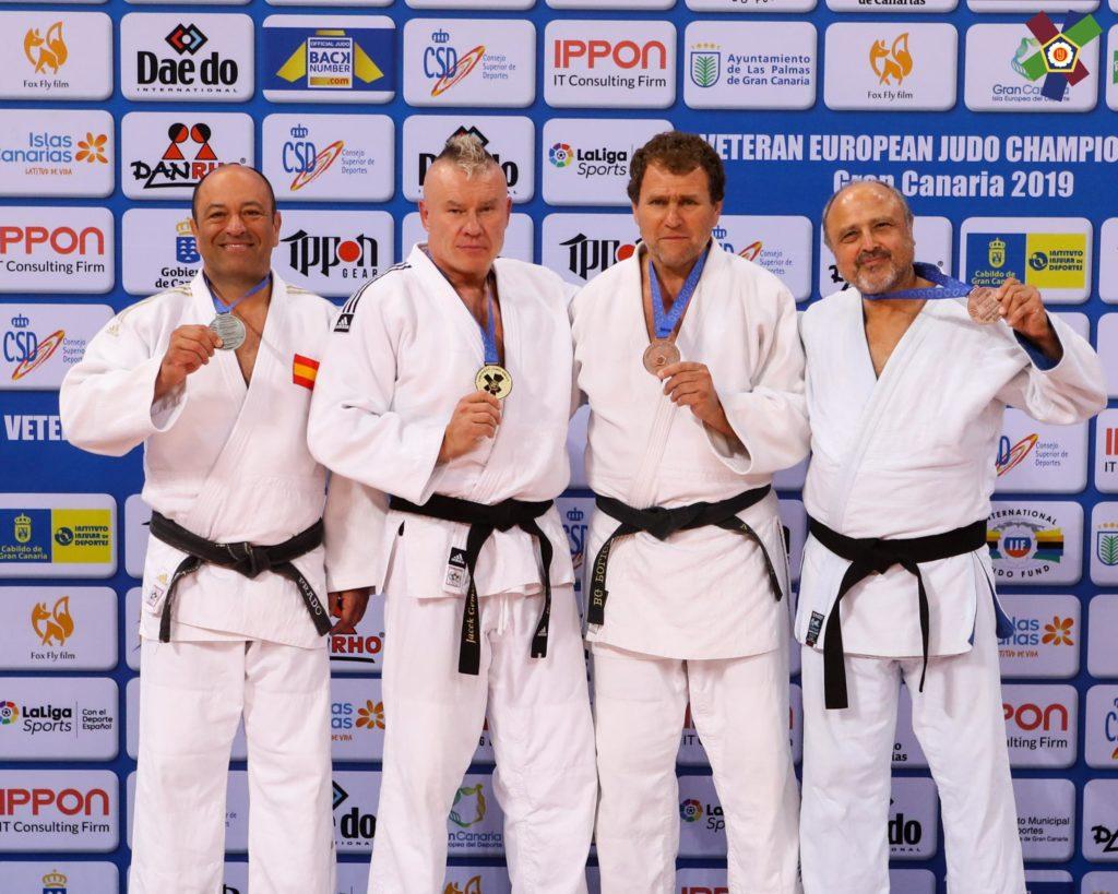Атанас Чолев с бронз от европейското по джудо за ветерани