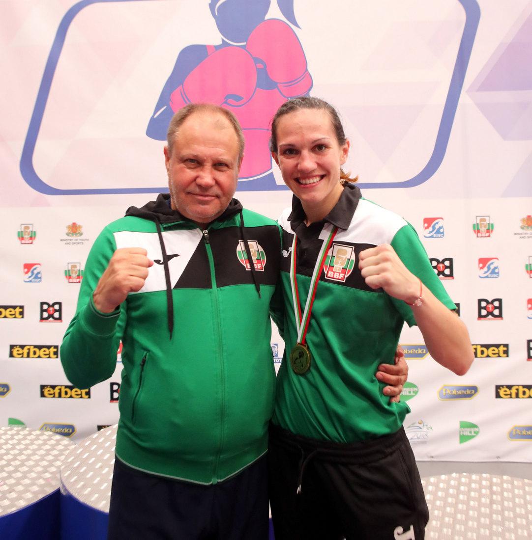Станимира Петрова и Петър Лесов се включиха в благотворителен търг