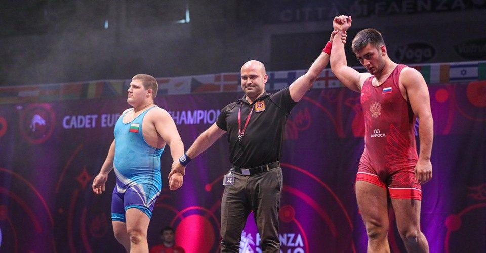 Георги Иванов отпадна на 1/4-финалите на световното по борба