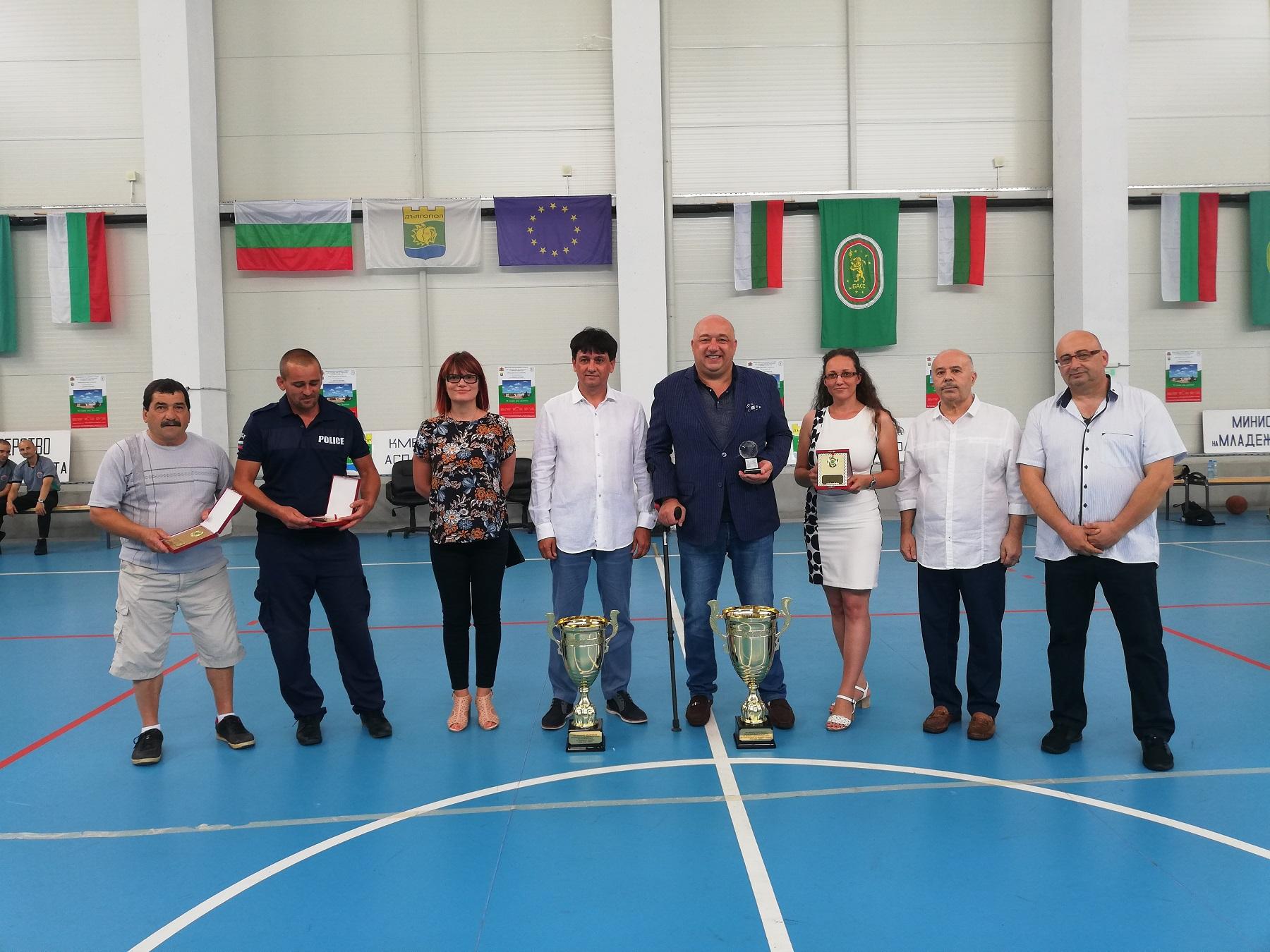 Министър Кралев откри игрите на спортистите от малките селища