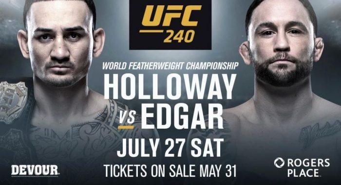 Открити тренировки на Макс Холоуей и Франки Едгар преди UFC 240 (ВИДЕО)