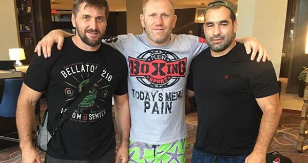 Благой Иванов поздрави Харитонов и Минаков