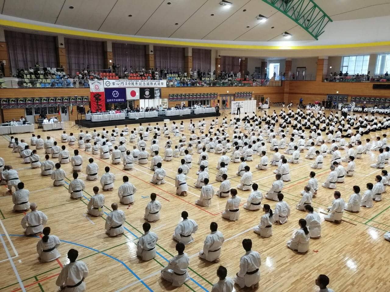 Йошинмон шорин-рю карате чества 50-годишнина (СНИМКИ+ВИДЕО)