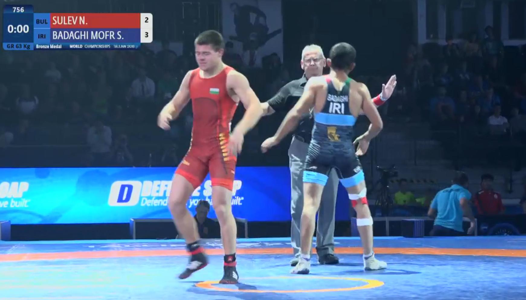 Сулев изпусна бронзовия медал в оспорван мач