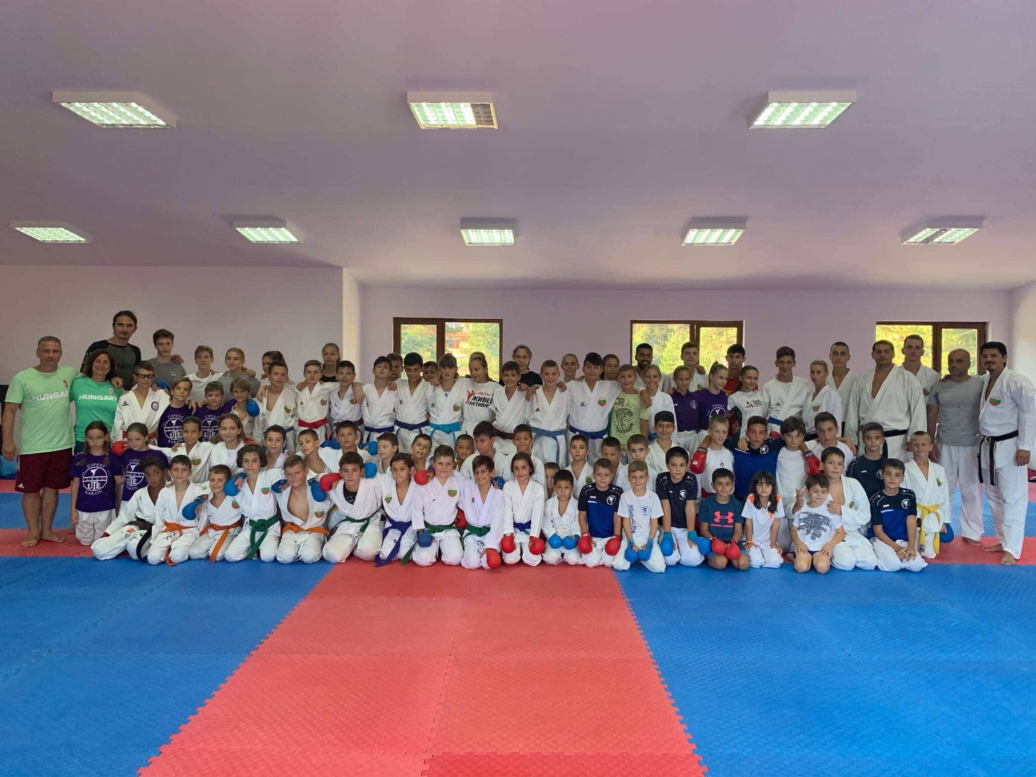 Над 250 каратеки от 6 държави на лагер в Семково