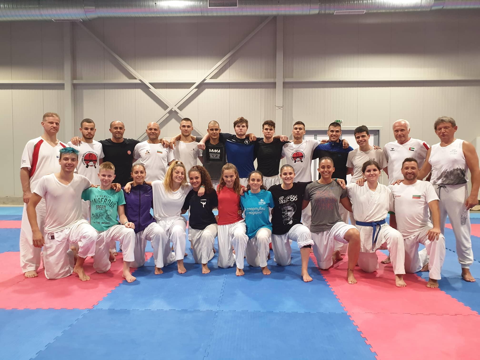 Националите ни в олимпийското карате с лагер в Кранево (СНИМКИ)