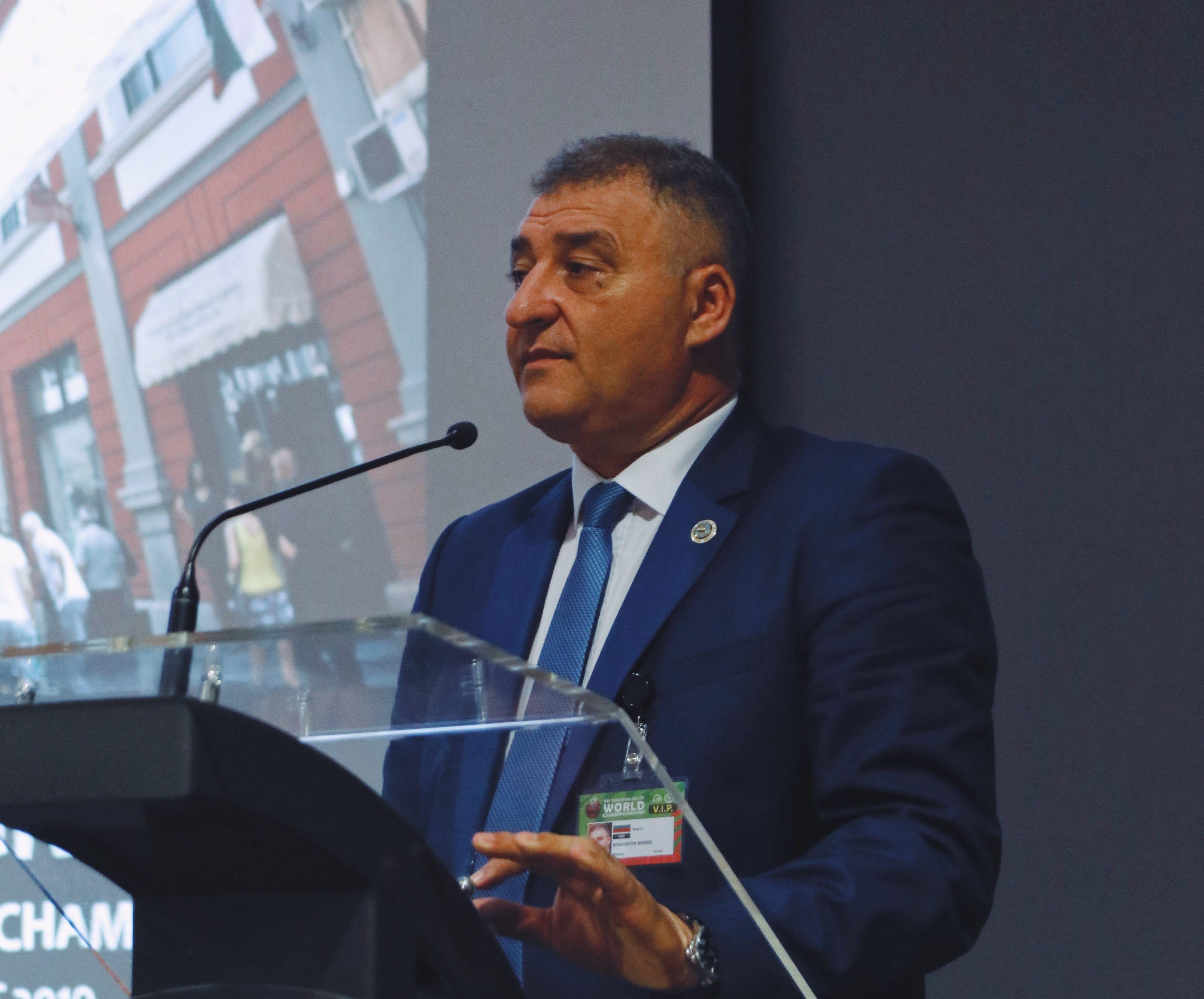 Преизбраха Марио Богданов за вицепрезидент на световното таекуондо ITF