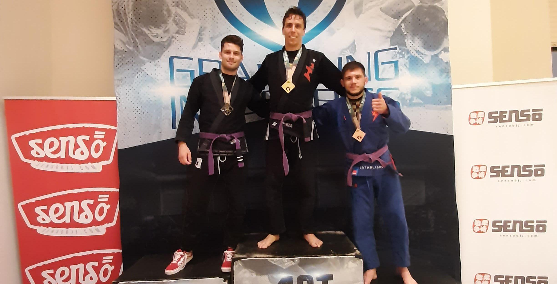 Българин с три медала в престижен граплинг турнир