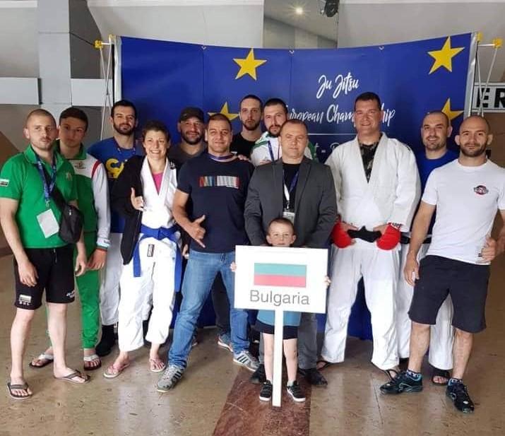 България с рекорден брой национали на джу джицу турнири