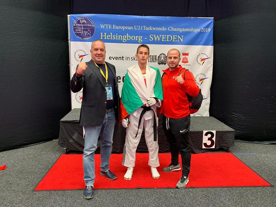Даниел Ладжев остана на победа от Токио