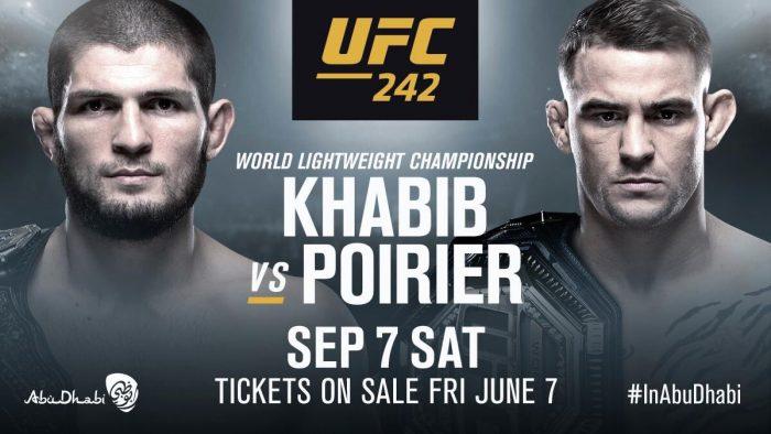 Пълна файт карта на UFC 242 в Абу Даби