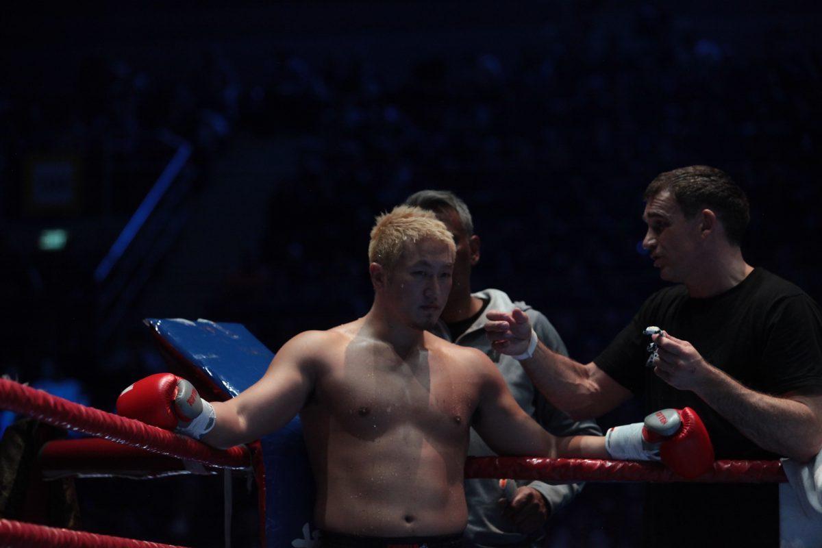Звезда на Петер Артс срещу украински киокушин шампион на SENSHI 4