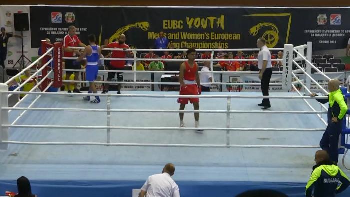 Стартирахме със загуба на Европейското по бокс за младежи