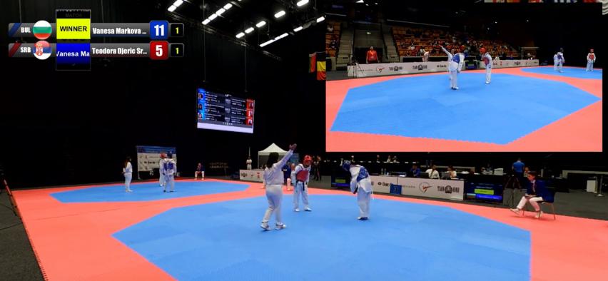 Ладжев и Маркова започнаха с победи на Европейското
