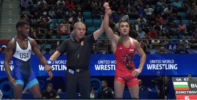 Дейвид Димитров в мач за бронз на Световното до 23 години
