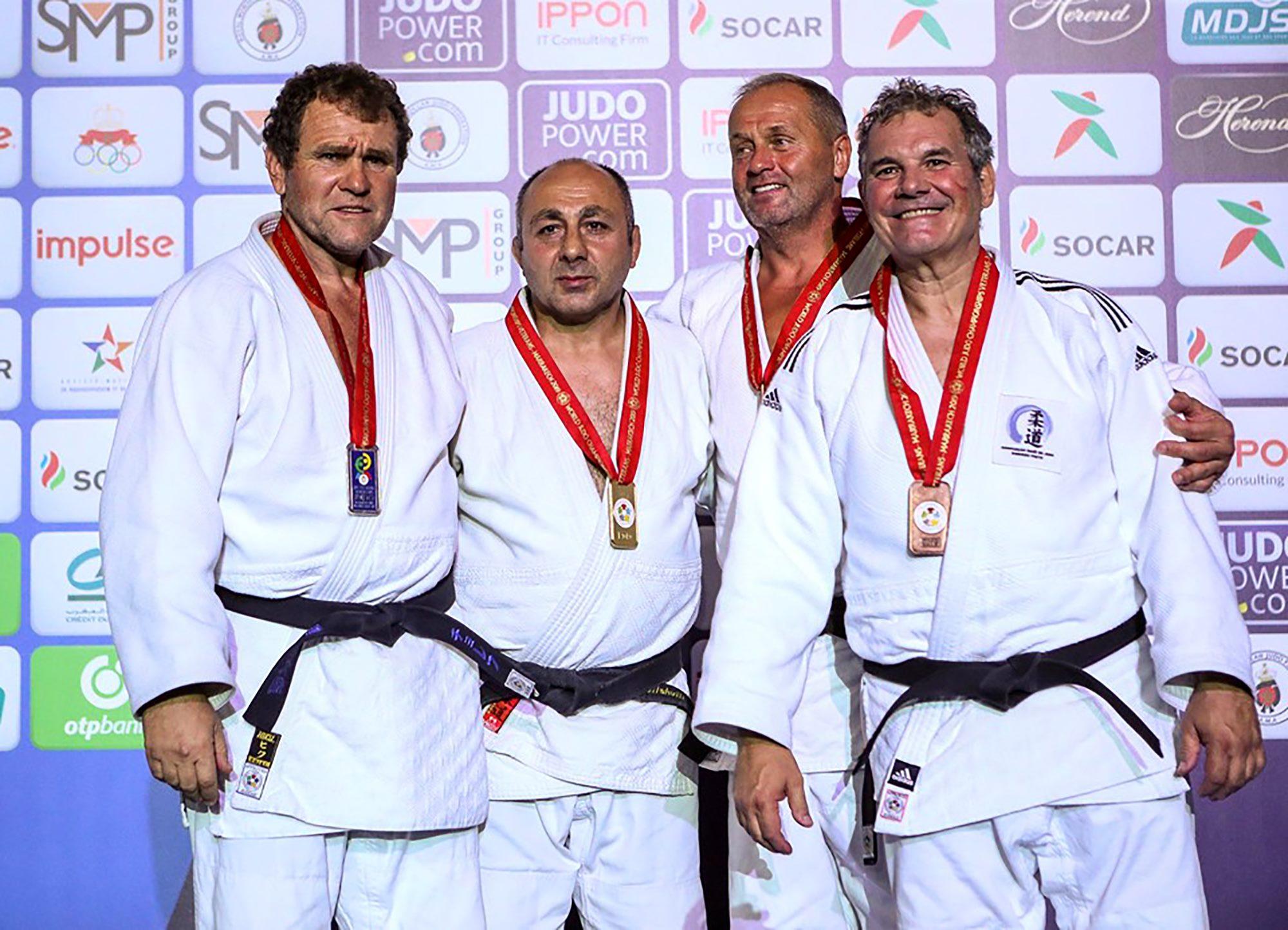 Атанас Чолев със сребро от Световното по джудо за ветерани