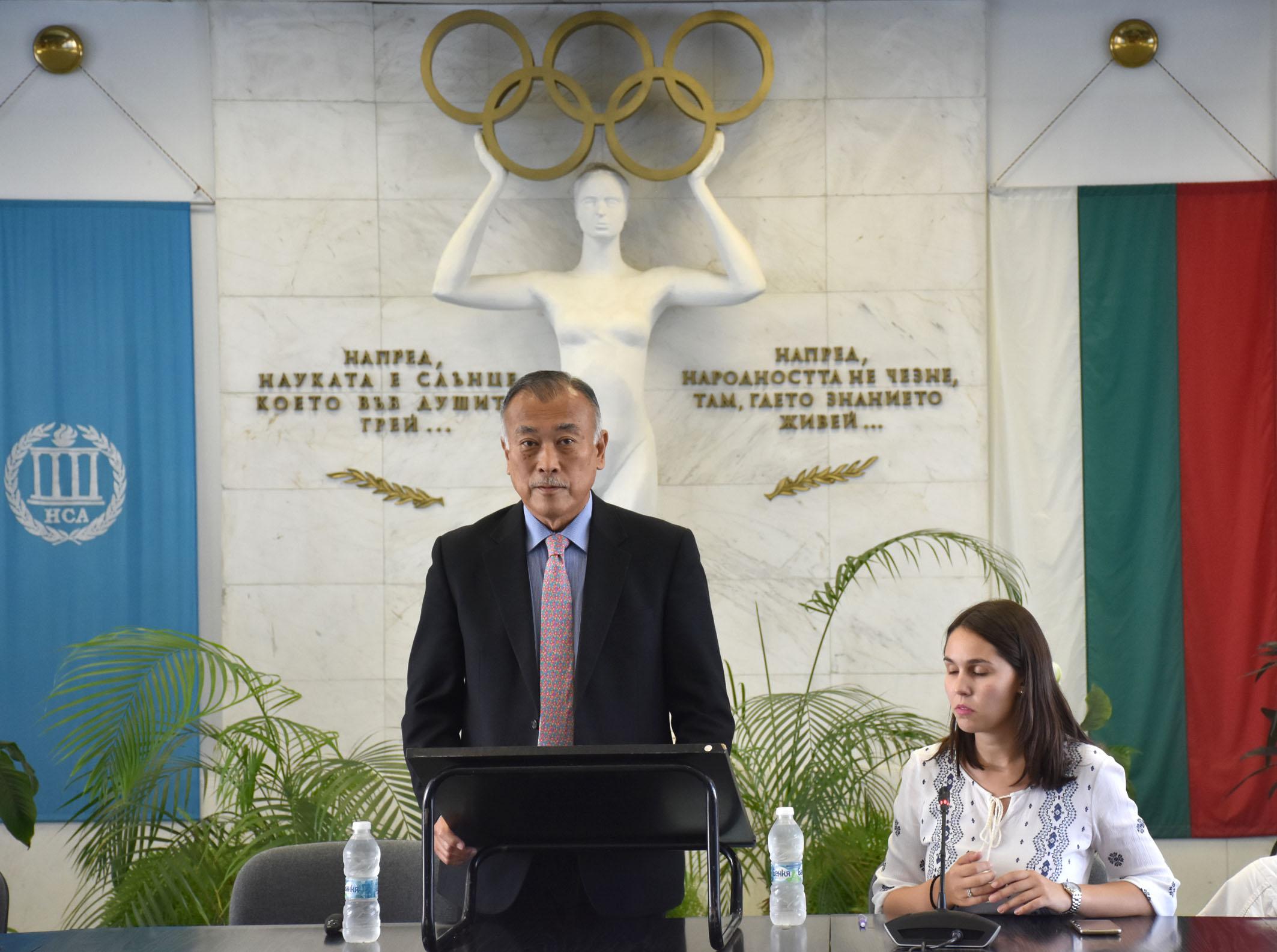 Президентът на международното айкидо изнесе лекция в София