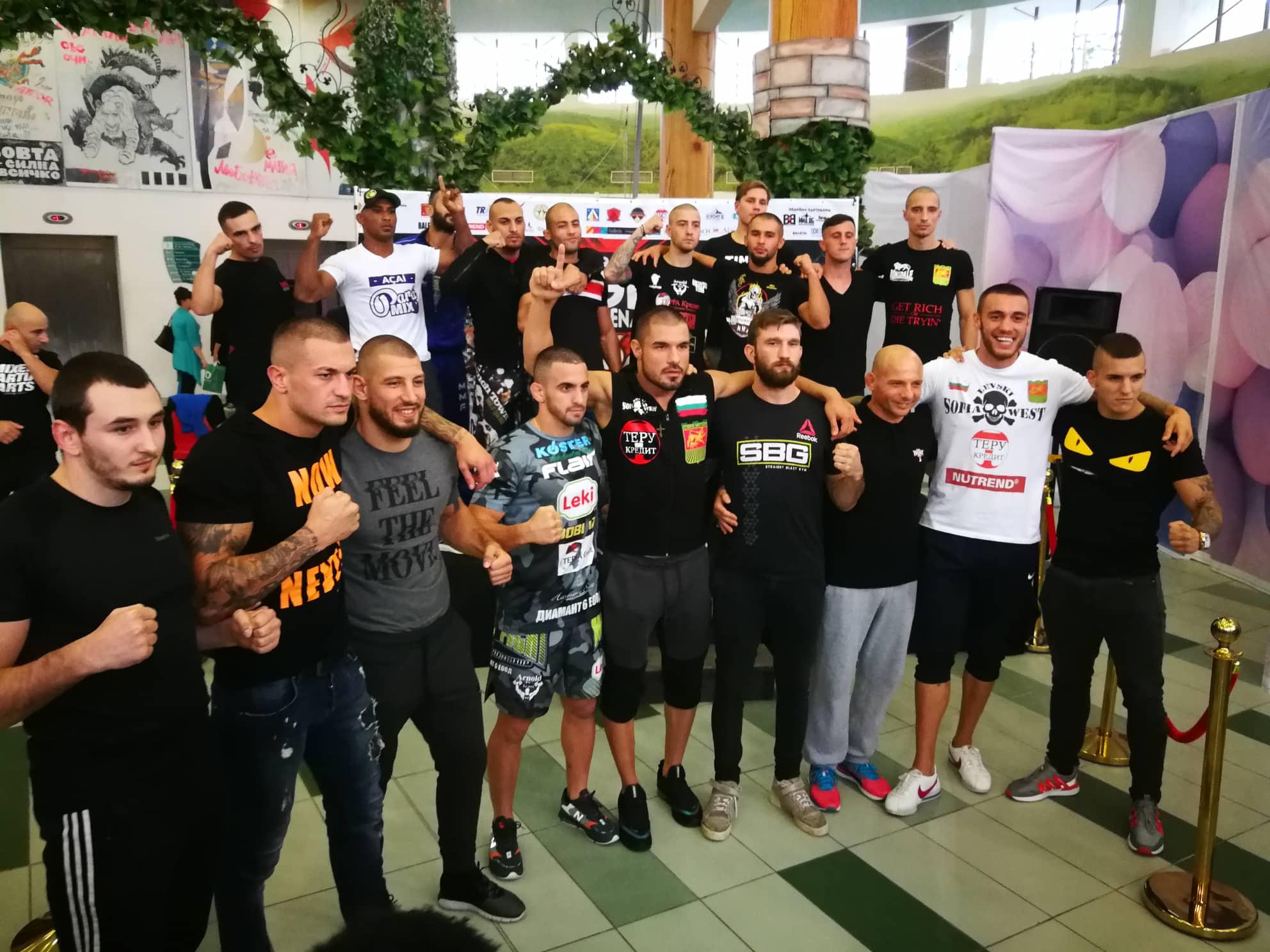 Успешен кантар за бойците от GRAND FIGHT ARENA 3 (СНИМКИ)