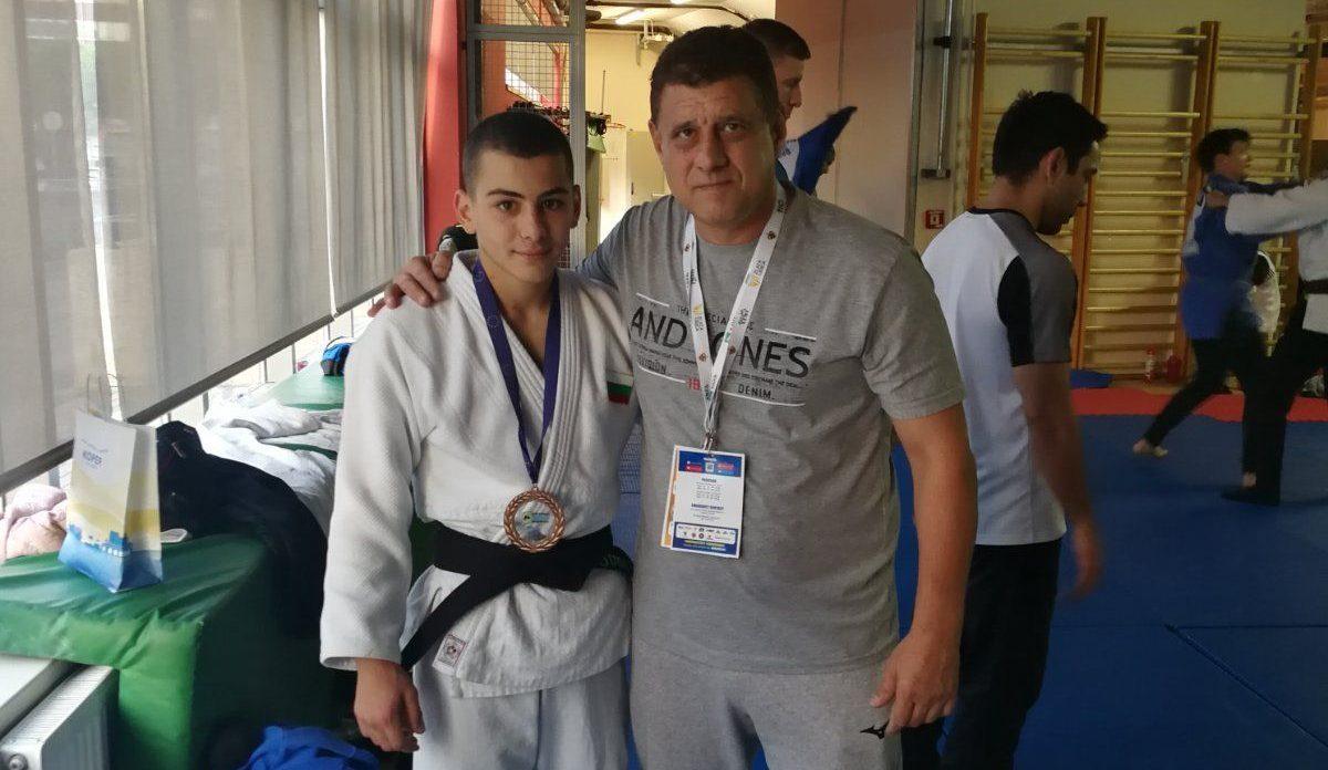 Българин с бронз на Европейската купа по джудо за кадети