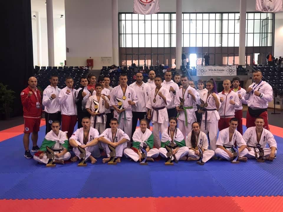 България стартира с 13 медала на Европейското по киокушин (СНИМКИ)