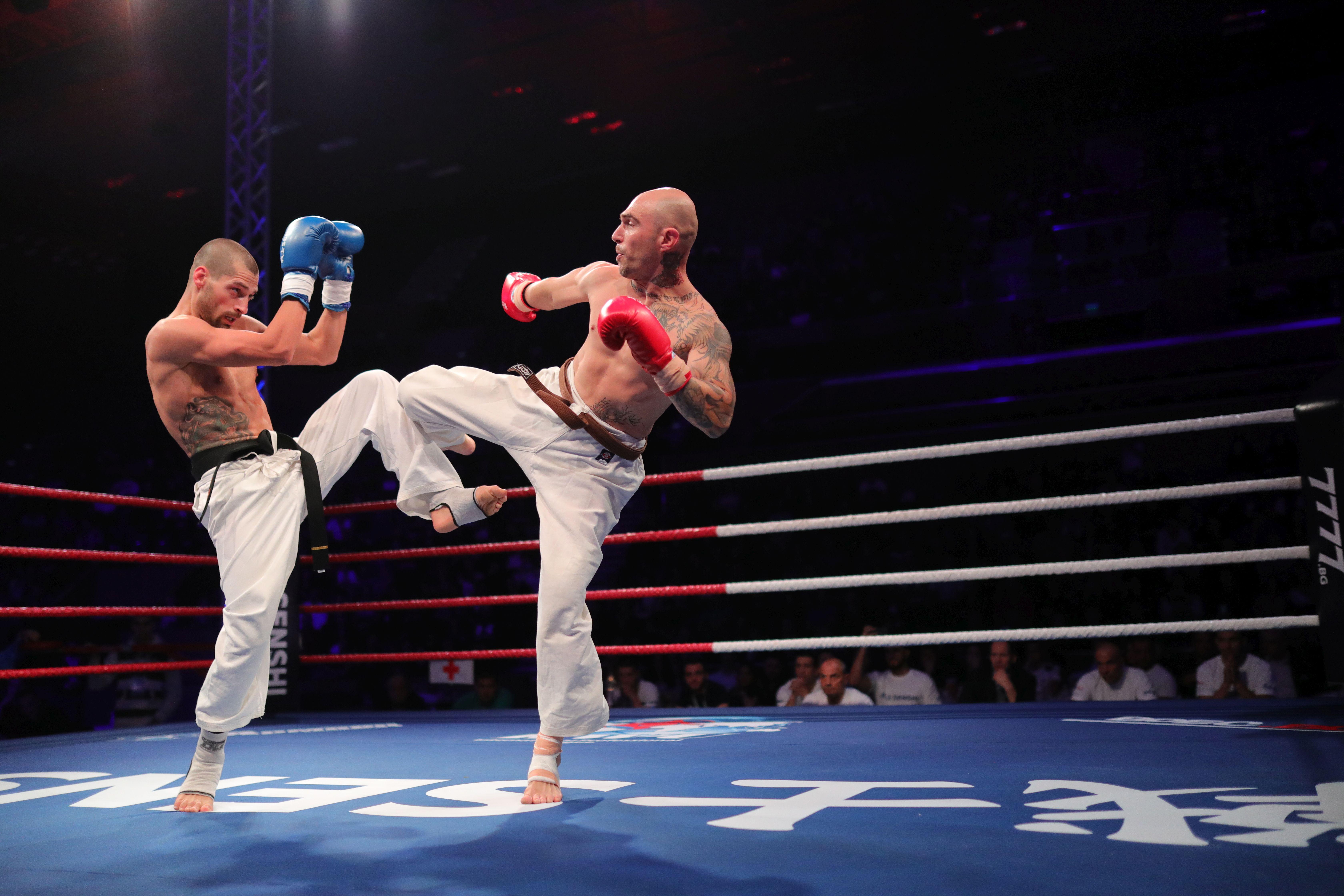 Страхотен Петър Стойков нокаутира за секунди опасен сърбин