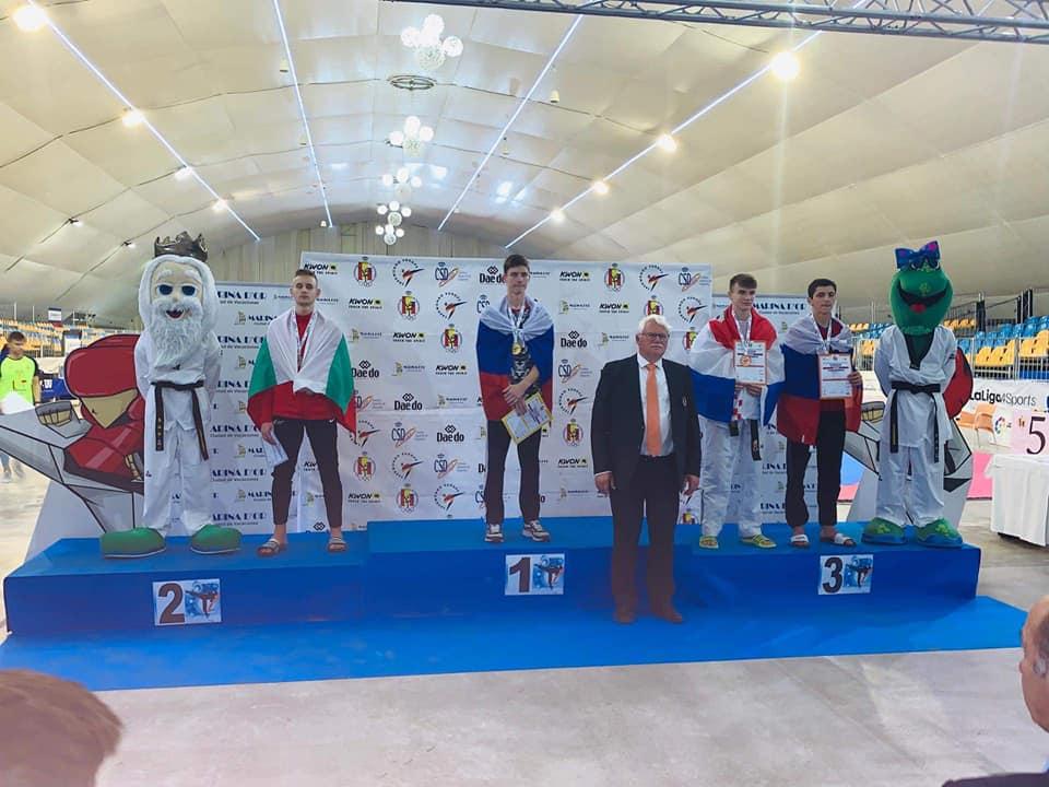 Български млад таекуондист с нов успех в Испания