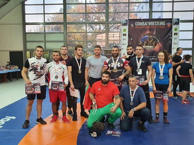 България с шест световни титли по комбат рестлинг