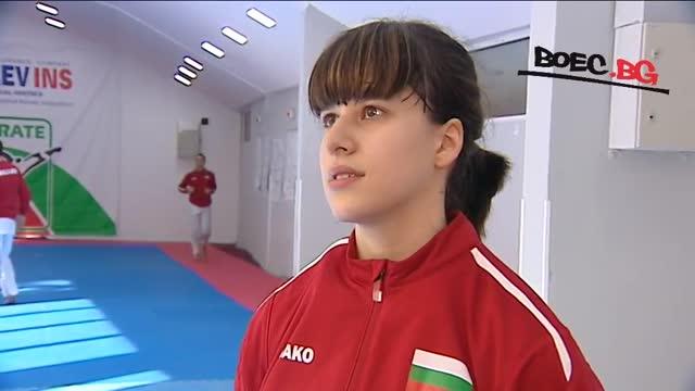 Ивана Каменова преди Световното: Целя се във върха! (ВИДЕО)