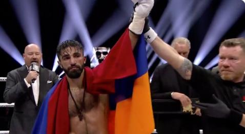 Марат Григорян защити титлата си на GLORY в Дюселдорф