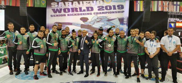 България с четирима медалисти на Световното по кикбокс (СНИМКИ)