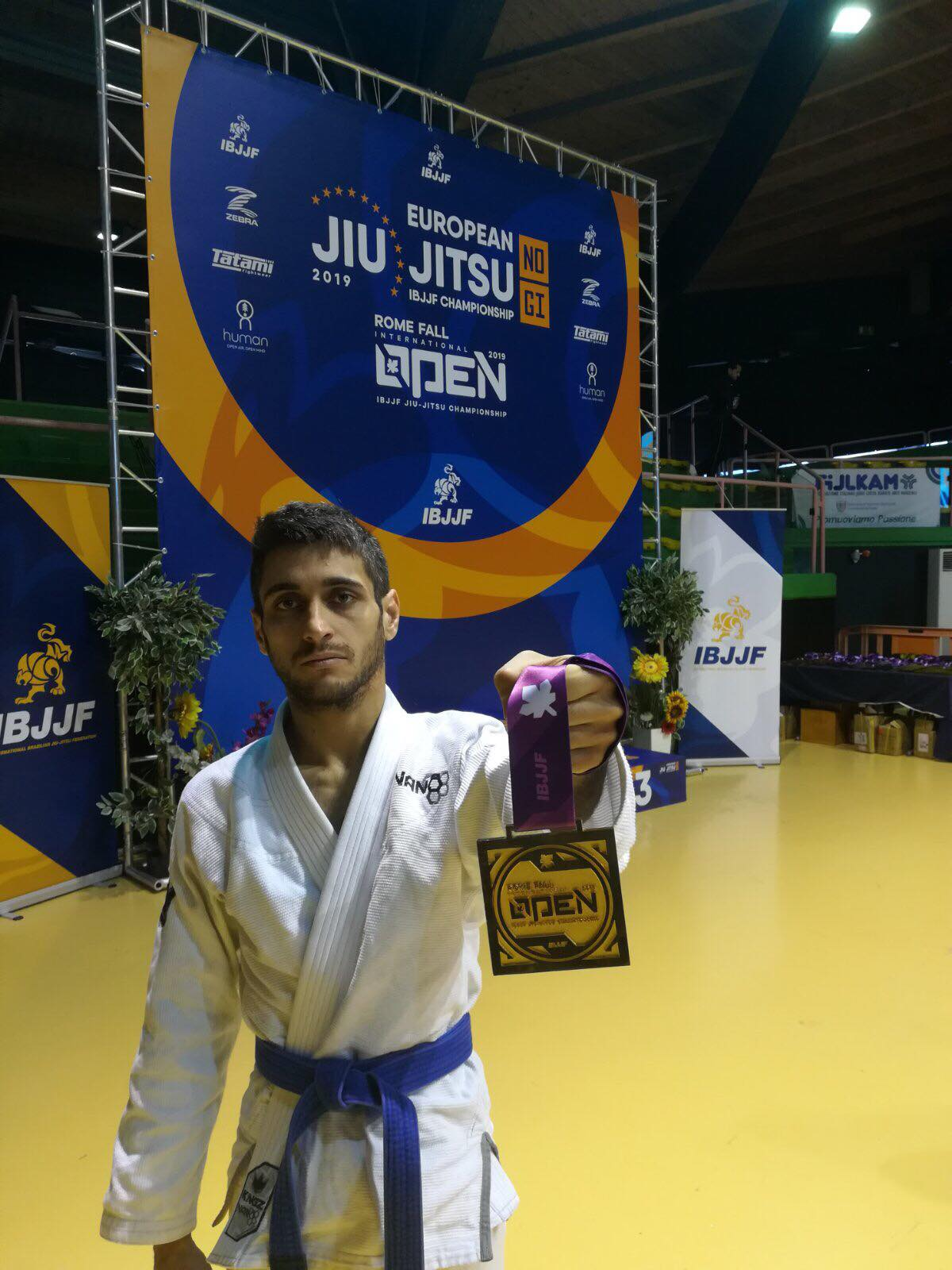 Седем медала за България от първия ден на Рим Оупън