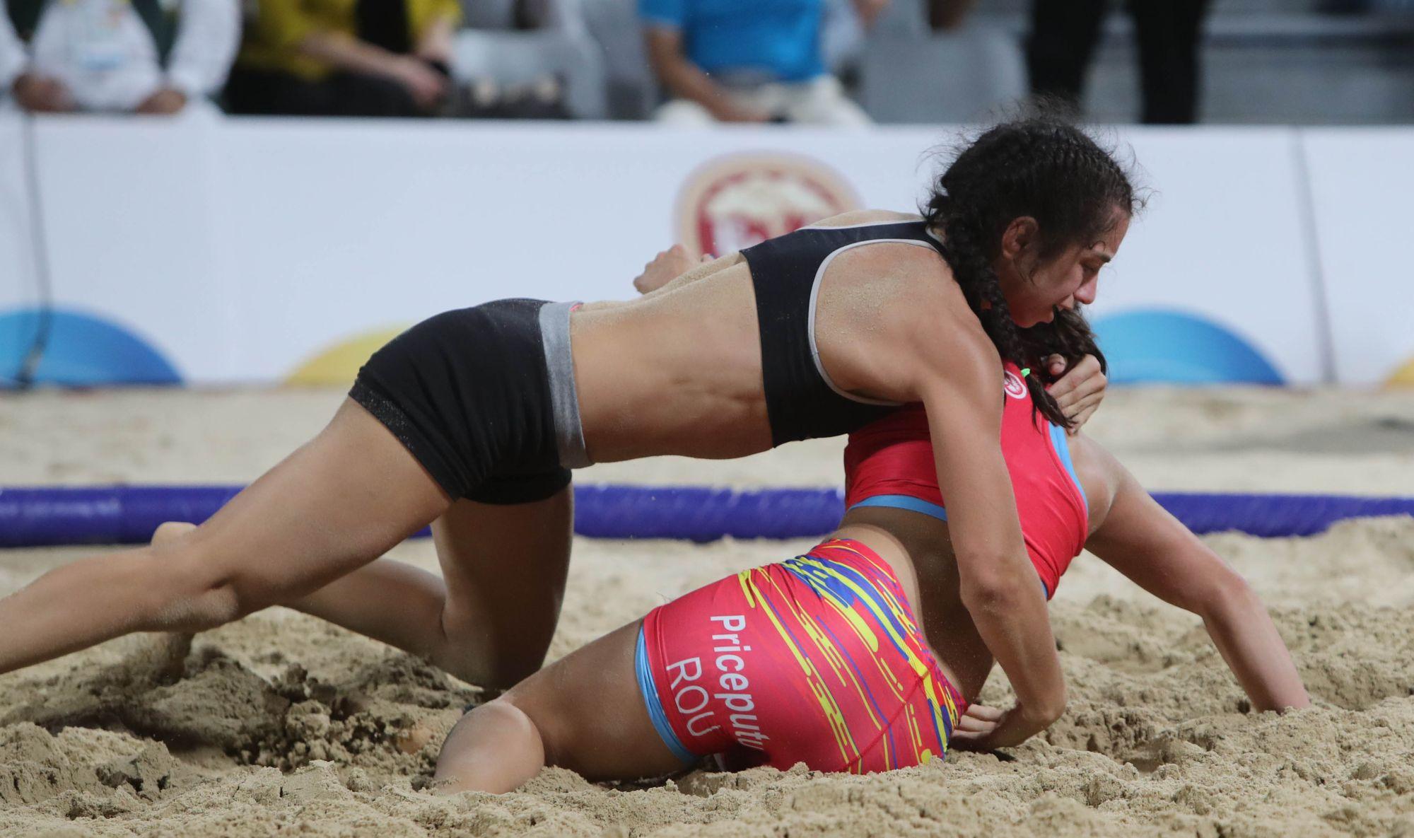 Борбата донесе първи медал за България на световните плажни игри