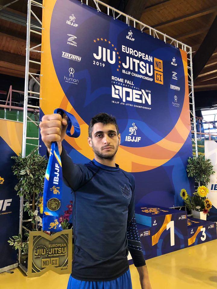 Първи медал за България от Европейското по бразилско джу-джицу