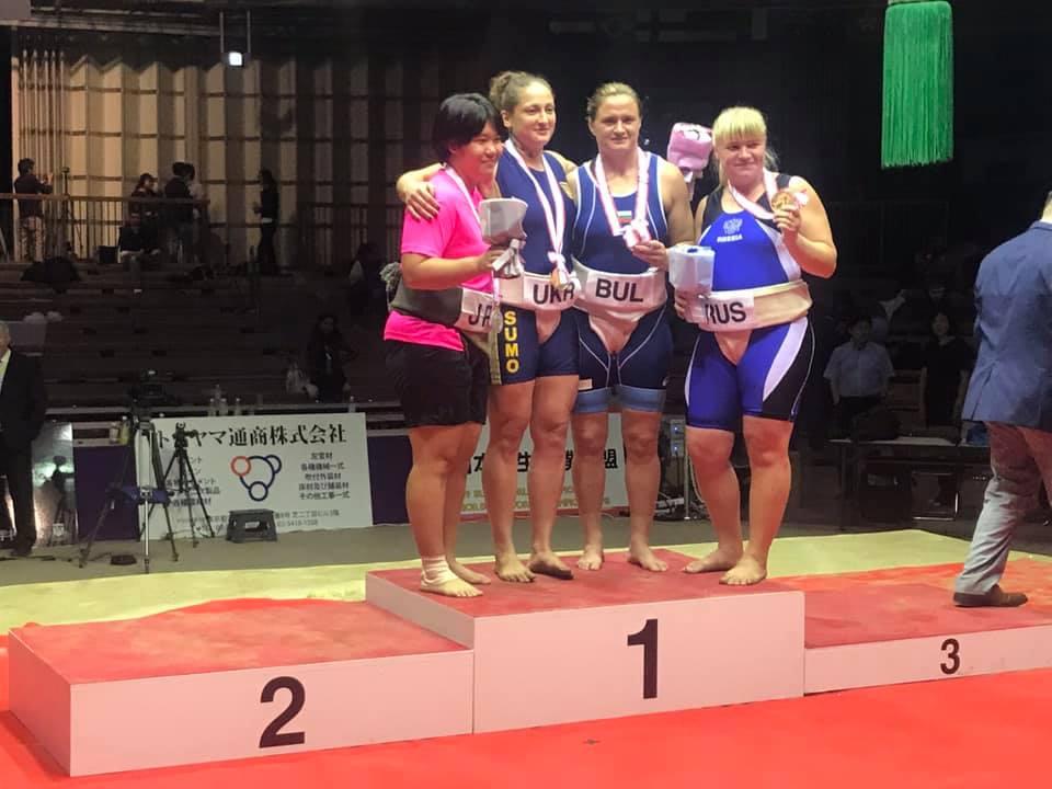 Мария Оряшкова с бронз от Световното първенство по сумо