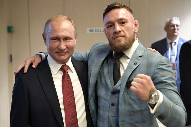 Конър дал първата си бутилка уиски на Владимир Путин