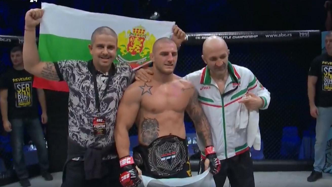 Поредна победа с нокаут за Владислав Кънчев