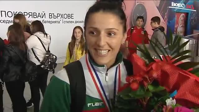 Ваня Иванова и успешното ѝ завръщане в самбото (ВИДЕО)