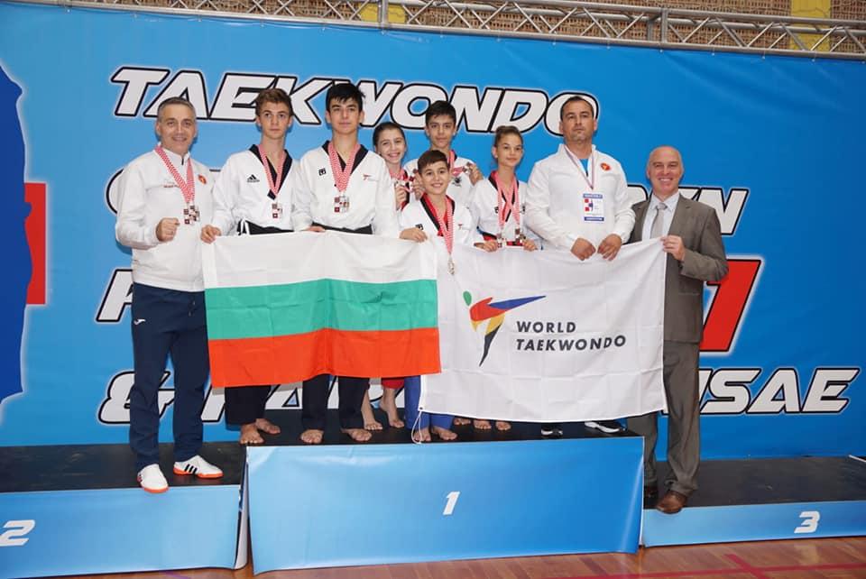 Осем медала взеха родни таекуондисти на турнир в Хърватия