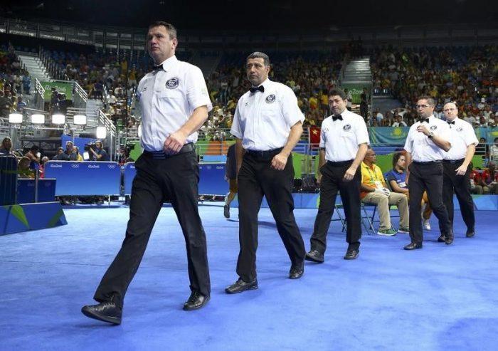 Боксовите съдии от Рио няма да реферират в Токио