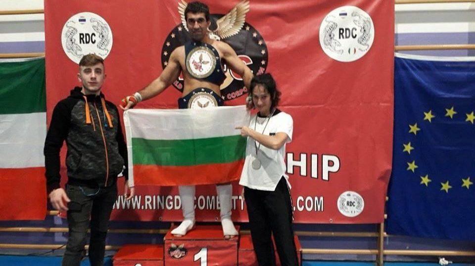 Българин с международни титли по кикбокс в два стила