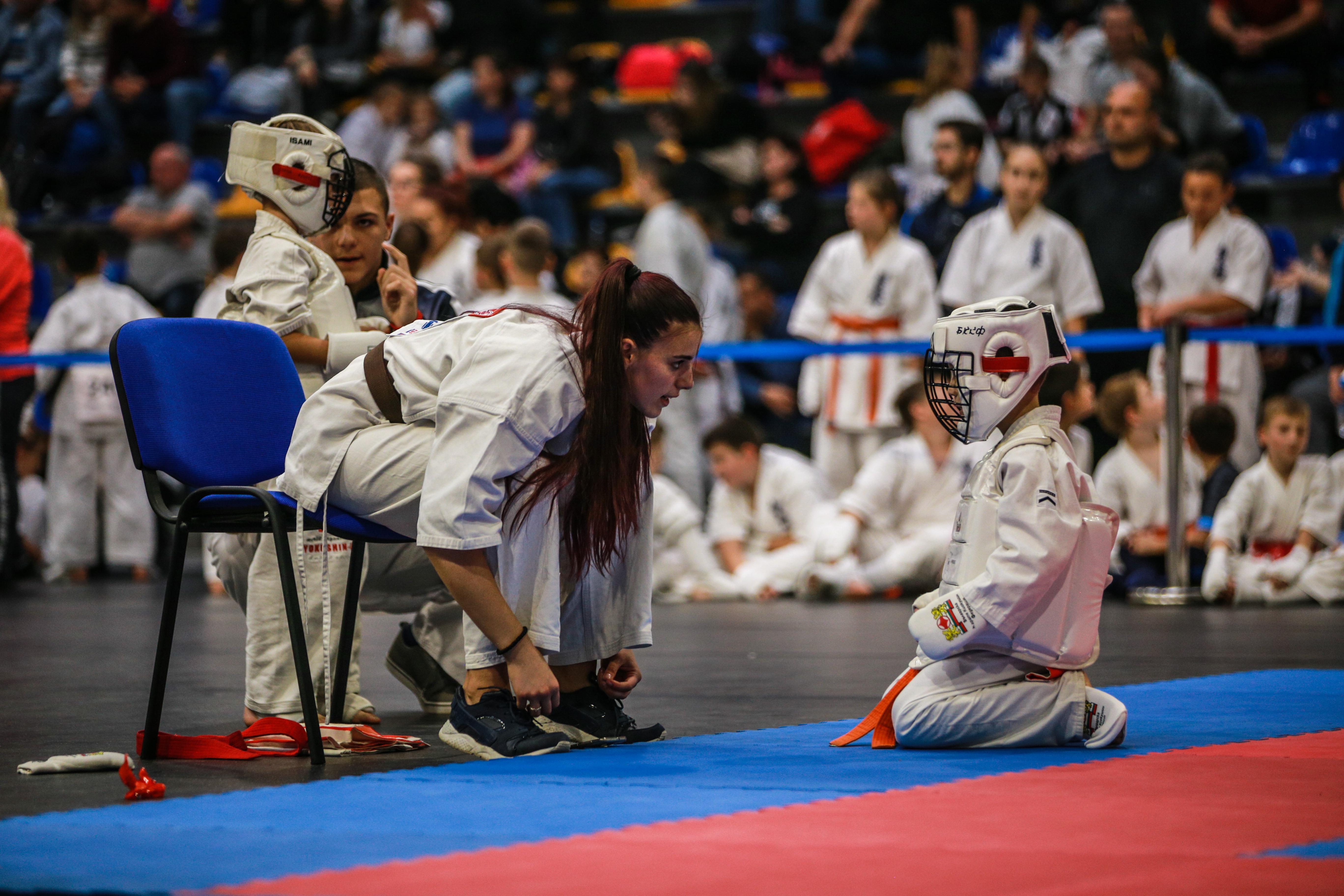 Клубове от три държави спориха в киокушин турнир в Шумен
