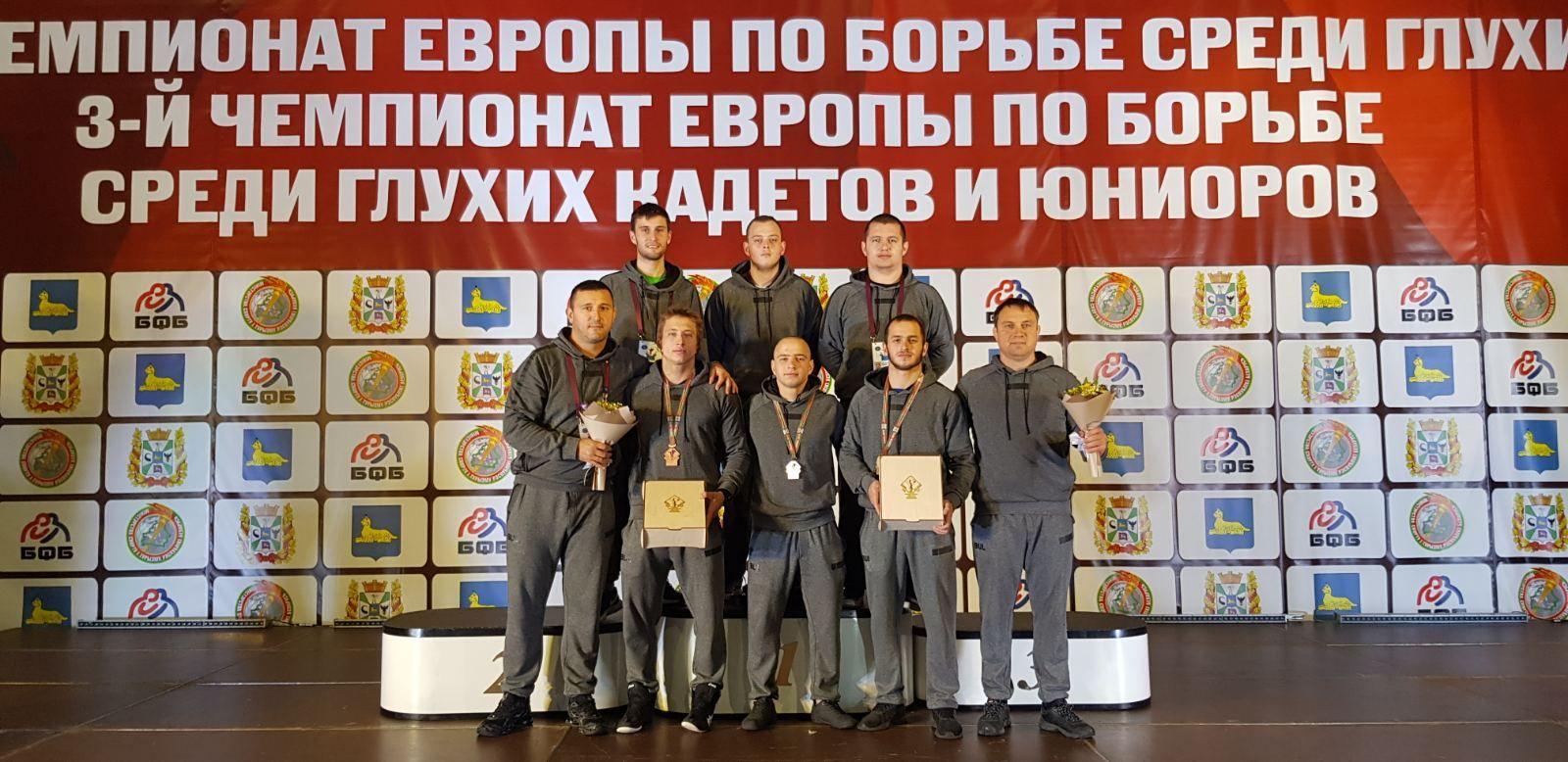 България с три медала от европейското по борба