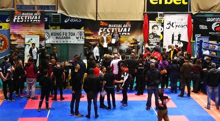 10-часов фестивал на бойните изкуства се проведе в Люлин