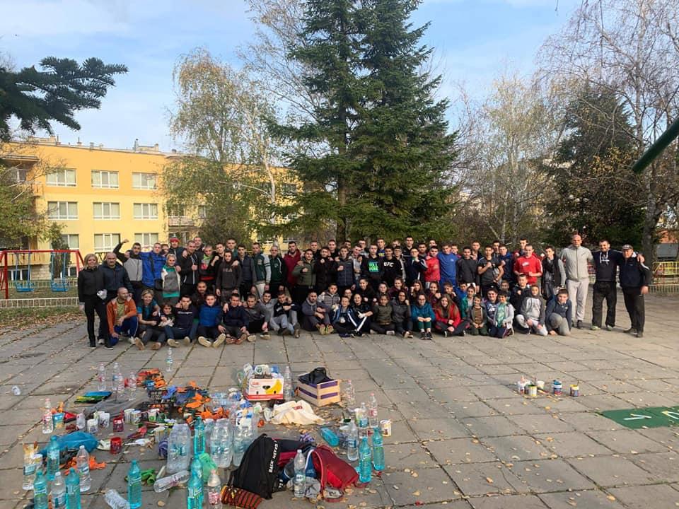 СК Шуменска крепост отново почиства града си (СНИМКИ)