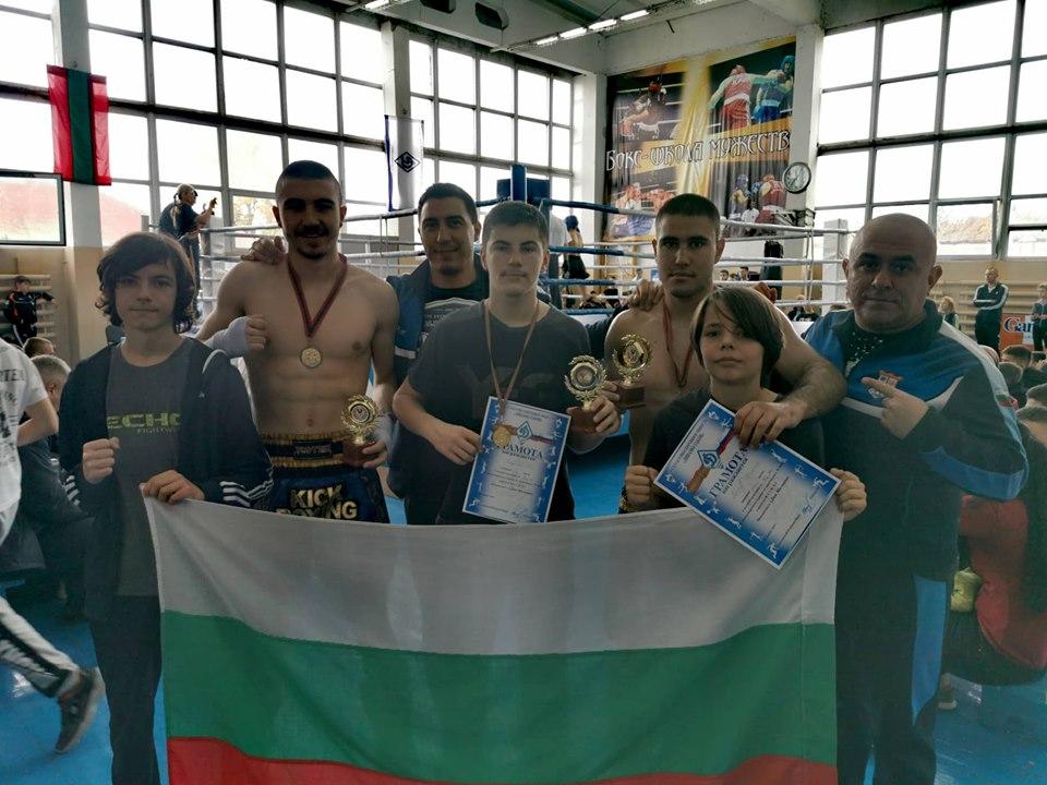 """Бойците на """"Тангра 2008"""" прибраха пет медала от международен турнир"""