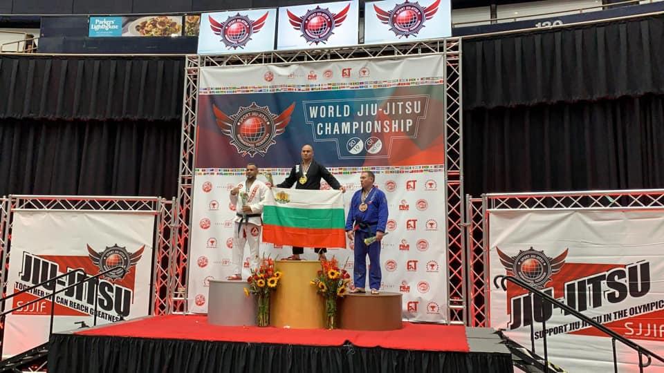Три златни медала за България на световно първенство по джу-джицу