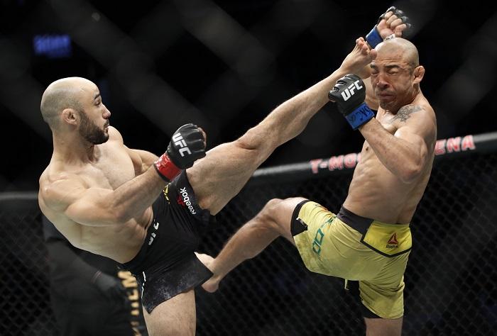 Жозе Алдо аут от UFC 250