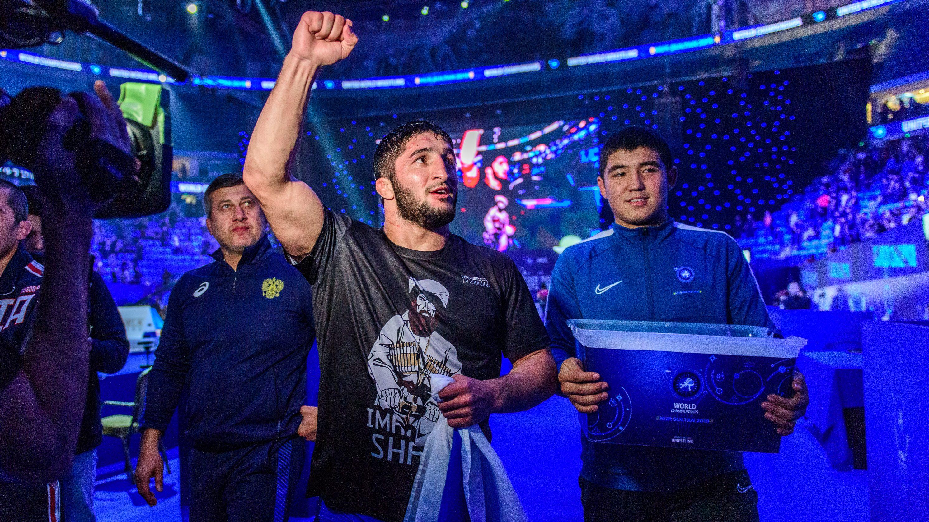 Дисквалифицираха Абдулрашид Садулаев