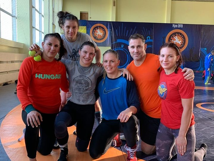 Биляна Дудова с нови тренировки в Украйна (СНИМКИ)