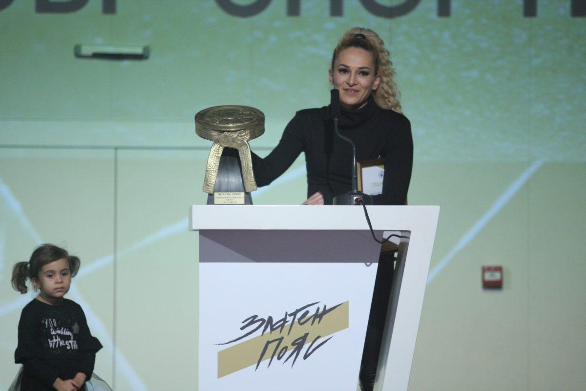 Албена Ситнилска е Спортистка на годината в бойните спортове